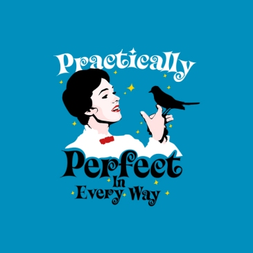 camiseta practically perfect mary poppins