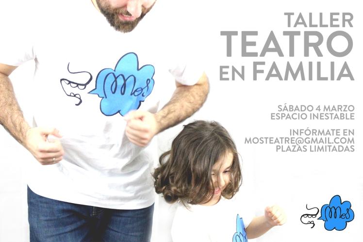 taller de teatro en familia familia